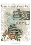 Visiting Rome Posters by Jennifer Goldberger