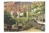 Watercolor Garden II Posters by Dianne Miller