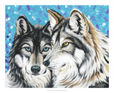 Grey Wolf I Prints by Carolee Vitaletti