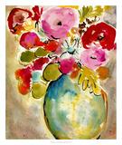 Pastel Vase II Art by Julia Minasian