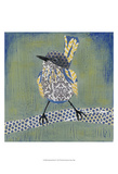 Patchwork Wren I Poster by Grace Popp