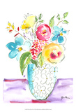 Flower Burst Vase I Prints by Julia Minasian