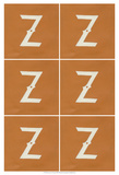 Lucien's Z 6-Up Plakat af Chariklia Zarris