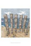 Beach Scene Triptych I Prints by Jade Reynolds