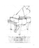 Piano Sketch Limited Edition by Ethan Harper