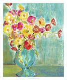 Pastel Vase I Posters by Julia Minasian