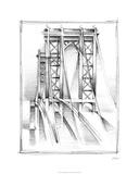 Art Deco Bridge Study I Limited Edition by Ethan Harper