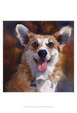 Ben Welsh Corgi Prints by Edie Fagan
