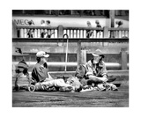 Conversation Photographic Print by John Krakora