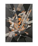 Running Through Clockwork Orange Photographic Print by Ernst Kruijff