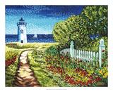 Lighthouse Retreat II Print by Carolee Vitaletti
