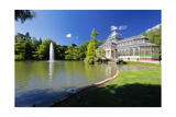 Crystal Palace Of Madrid Photographic Print by George Oze