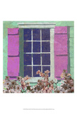 Window Floral II Poster by Rick Novak