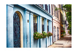 Charleston Street Colors, South Carolina Photographic Print by George Oze