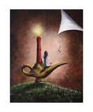 The Fairy And The Candlestick Photographic Print by Shawna Erback