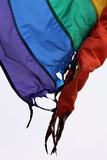 LGBT Flag Burned Photographic Print by Mark Thiessen