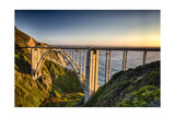 Pacific Highway Bridge Photographic Print by George Oze