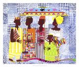 We Are African People Art by Varnette Honeywood
