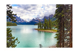 Spirit Island on Maligne Lake, Alberta, Canada Photographic Print by George Oze