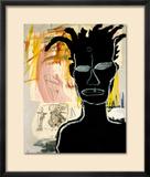 Sans titre, 1984 Estampe encadrée par Jean-Michel Basquiat