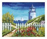 Lighthouse Retreat I Prints by Carolee Vitaletti