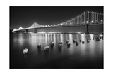 Luminous Bay Bridge Photographic Print by George Oze