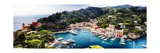 Portofino Panorama, Liguria, Italy Photographic Print by George Oze