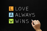 Law - Love Always Wins Photographic Print by Ivelin Radkov