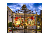 Ornamented Gate of La Fortaleza, San Juan, Puerto Photographic Print by George Oze