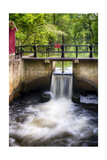 D & R Canal Lock, New Jersey Photographic Print by George Oze
