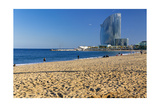 Barceloneta Beach Scenic Photographic Print by George Oze