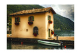Little House On The Jetty Photographic Print by George Oze