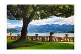 Classic View From Villa Balbianello Photographic Print by George Oze