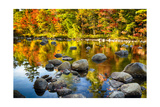 Autumn Foliage River Reflections Photographic Print by George Oze