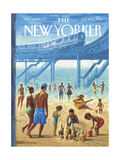 The New Yorker Cover - July 6, 2015 Regular Giclee Print by Eric Drooker