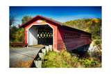 Bridge Over The Waloomsac River Photographic Print by George Oze