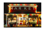 Yountville Market, Napa Valley, California Photographic Print by George Oze