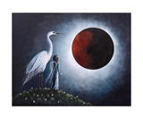 Night With The Great Egret Photographic Print by Shawna Erback