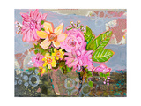 Chloe Rose Floral Arrangement Photographic Print by Blenda Tyvoll