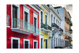 Old San Juan Street Charm II Photographic Print by George Oze