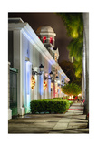 La Princesa During Holidays, San Juan, Puerto Rico Photographic Print by George Oze