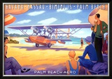 Palm Beach Aero Posters by Kerne Erickson