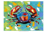 Seaside Crab I Prints by Carolee Vitaletti