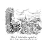 """This is the kind of socialist wasteland that Bernie Sanders wants to turn…"" - Cartoon Premium Giclee Print by Tom Toro"