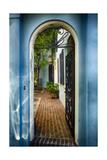 Southern Welcome In Charleston Fotodruck von George Oze