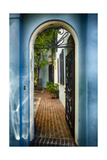 Southern Welcome In Charleston Photographic Print by George Oze