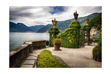 Villa Gate, Lake Como, Italy Photographic Print by George Oze