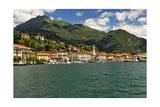 Bellagio On Lake Como Photographic Print by George Oze