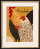 Family-We Protect What We Love Framed Giclee Print by Lisa Weedn