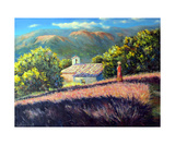 Provence the Old Chapel Photographic Print by Roman Fedosenko
